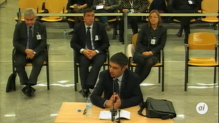 Trapero se negó a ceder al Govern datos fiscales