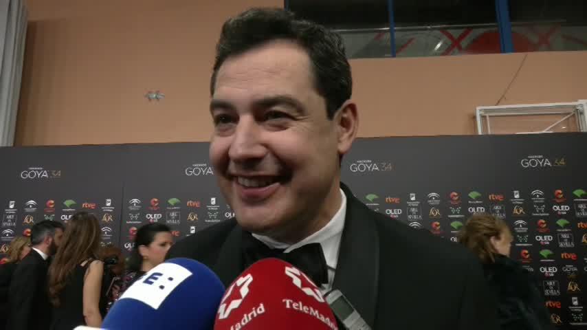 """Moreno anima a la Academia de Cine """"a seguir viniendo a Andalucía"""""""
