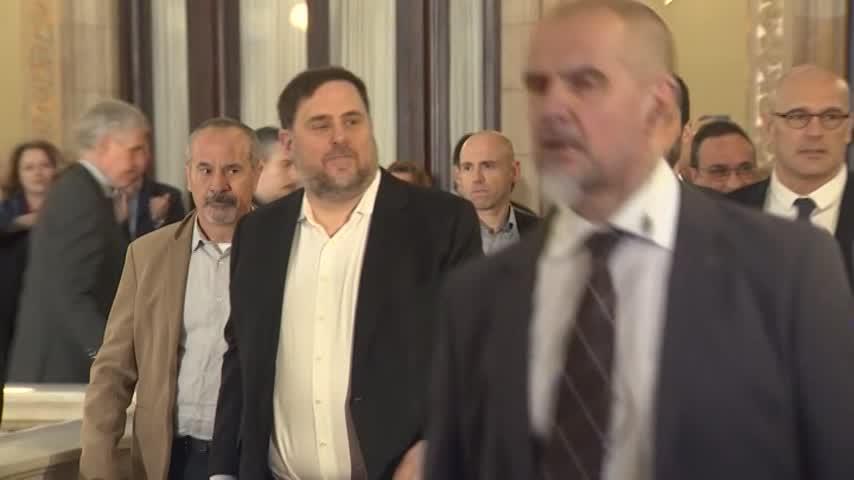 Junqueras tendrá que pagar más fianza que Puigdemont de 4,1 millones
