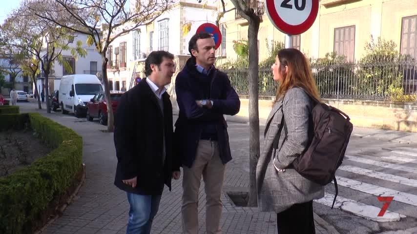 Cs insiste en la falta de seguridad en el centro de Jerez