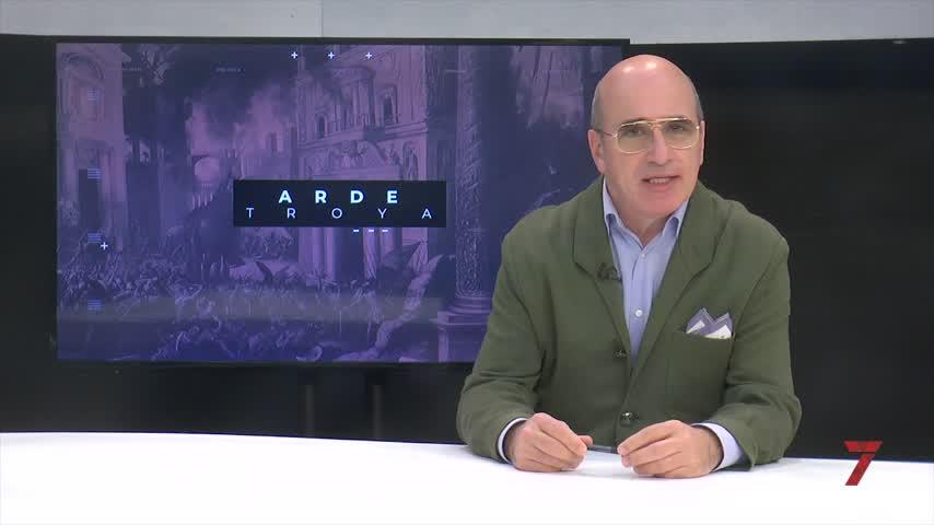 Arde Troya. Susana Sánchez