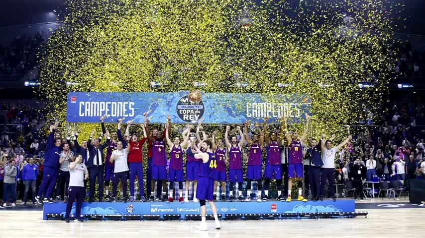 MoraBanc homenajea a Chiquito de la Calzada antes de la Copa del Rey