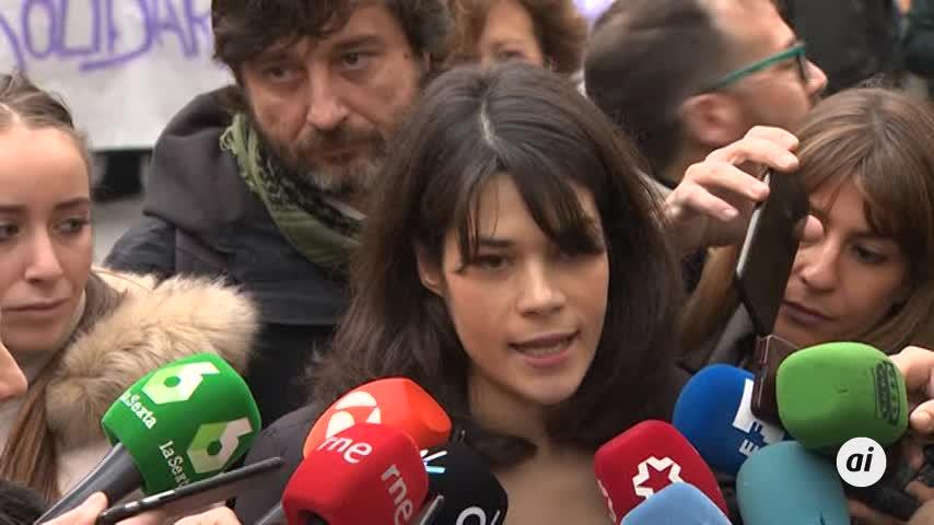 """Isa Serra reitera que las acusaciones sobre ella son """"falsas"""""""