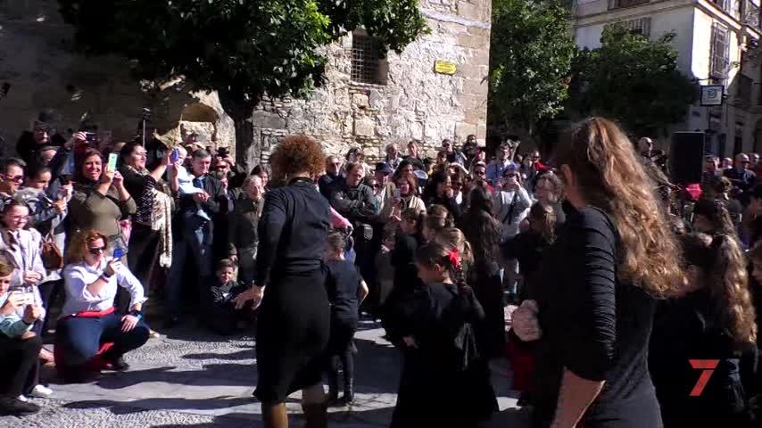 Encuentro de academias de flamenco con motivo del Día de Andalucía