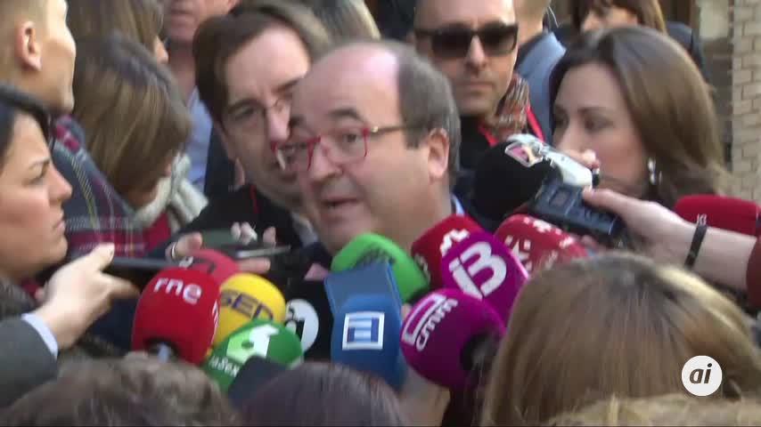 """Iceta (PSC) reconoce el """"esfuerzo"""" de Sánchez con Cataluña"""