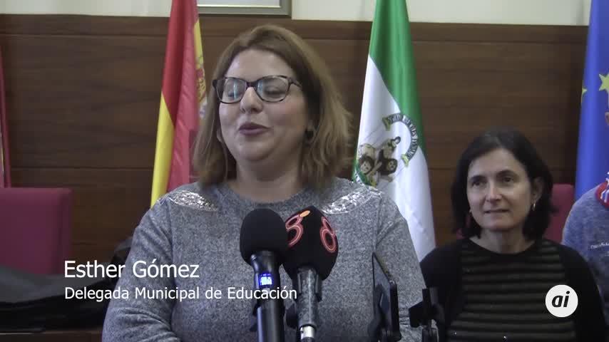 Recepción municipal a alumnos franceses de intercambio en Chiclana