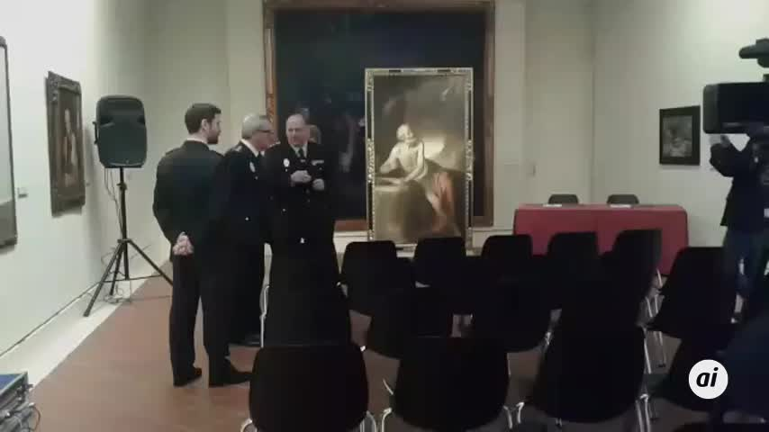 El Bellas Artes ya custodia el cuadro de San Jerónimo