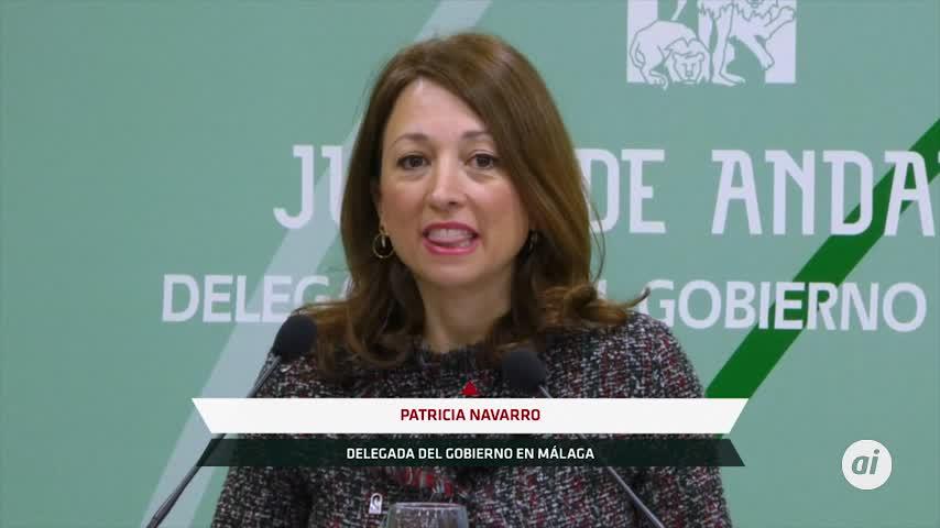 Bandera de Andalucía póstuma en Málaga para Garrido Moraga