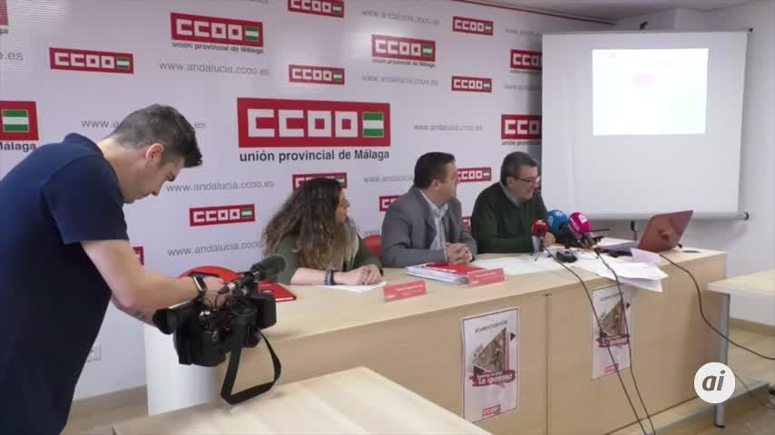 Uno de cada tres trabajadores de Málaga, en riesgo de pobreza laboral