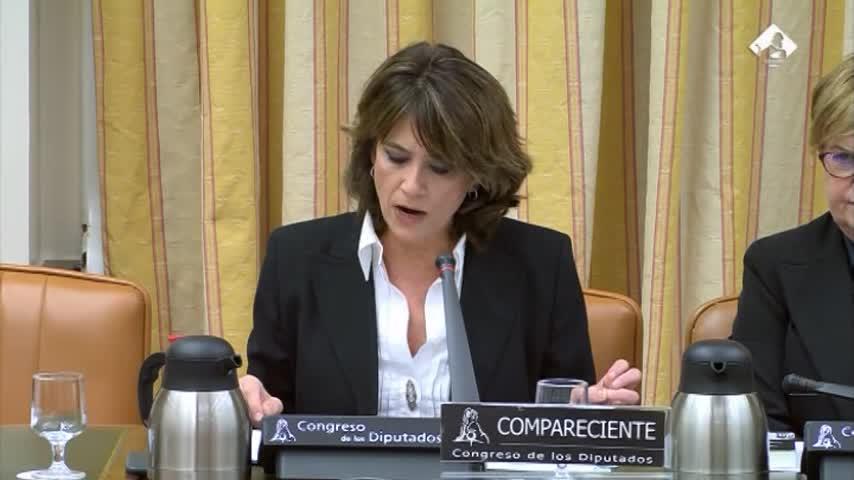 Delgado defiende su nombramiento como Fiscal General del Estado