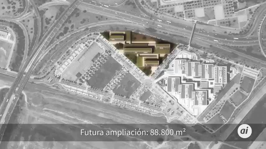 Campus judicial de Palmas Altas: ocho sedes y 2.500 plazas para coches