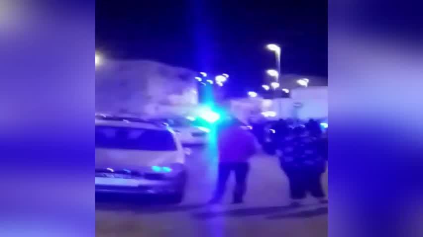 Detenido tras una persecución con tiroteo en la barriada del Pandero