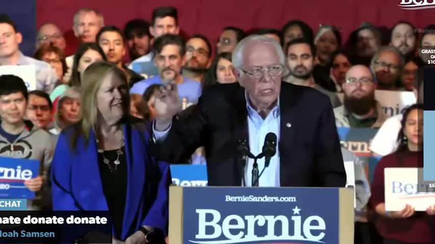 Sanders se perfila como ganador en las primarias demócratas en Nevada