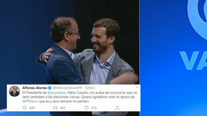 Alfonso Alonso no será el candidato del PP a las autonómicas vascas