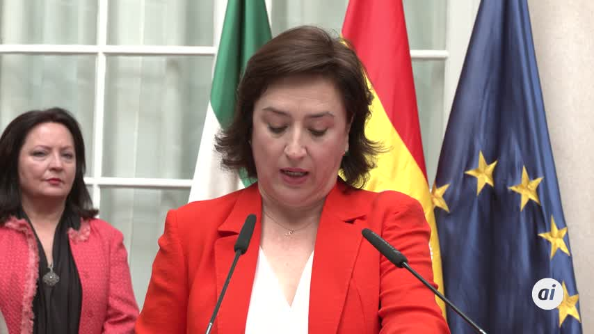 La nueva delegada del Gobierno en Andalucía toma posesión