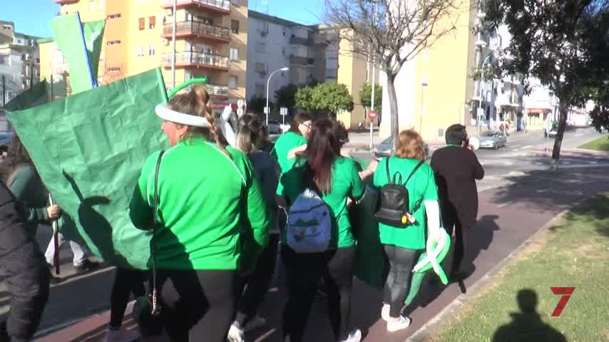 Los padres del CEIP Isabel La Católica se echan a la calle