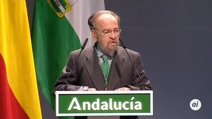 """""""Gracias por hacerme sentir la gloria de ser español de Andalucía"""""""