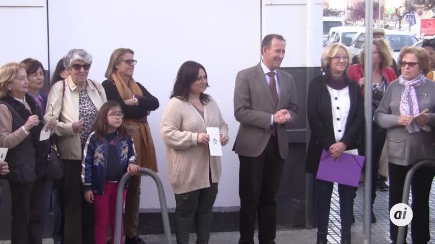 El alcalde de Chiclana inaugura la calle en honor a Ana Orantes Ruiz