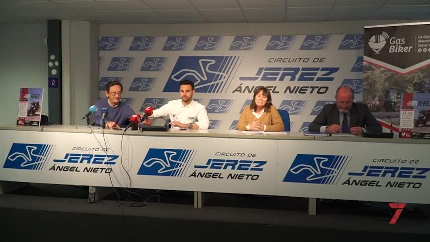 Jerez aguarda a 600 participantes de una gymkana motociclista