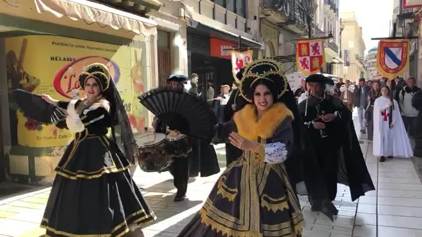 Actuaciones cada 15 minutos en la Feria Medieval de Palos