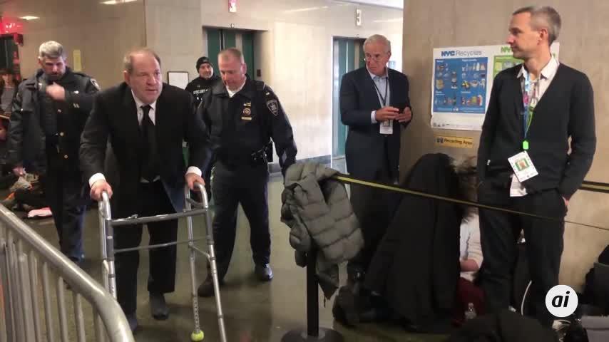 Weinstein, condenado a 23 años de prisión por violación y agresión