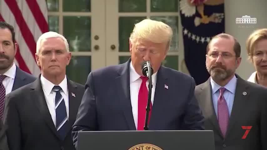 Trump declara la emergencia nacional en EEUU debido al coronavirus