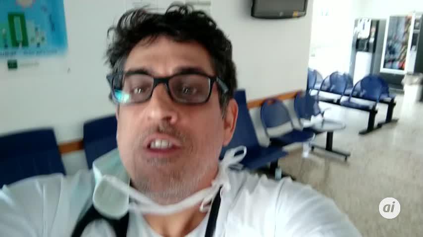 Los sanitarios de Riotinto devuelven el aplauso a los onubenses