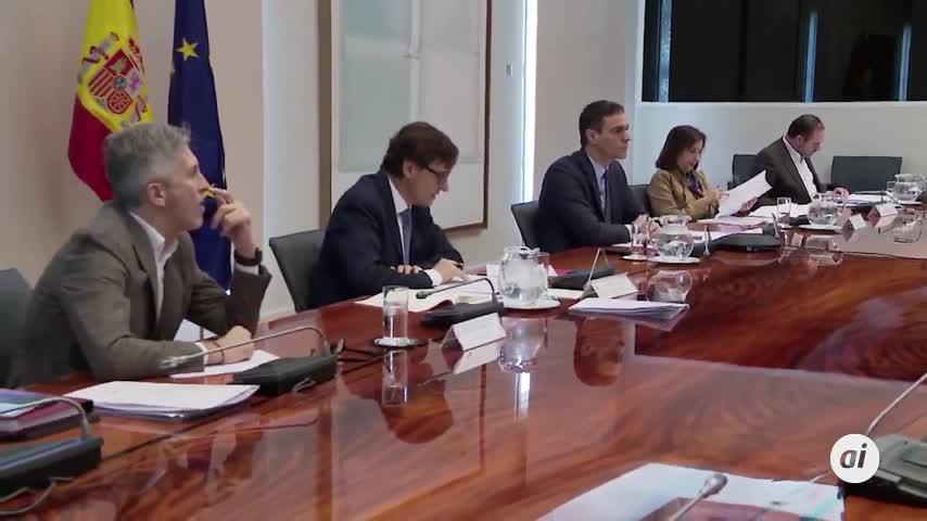 Pedro Sánchez amplía el estado de alarma al menos 15 días más