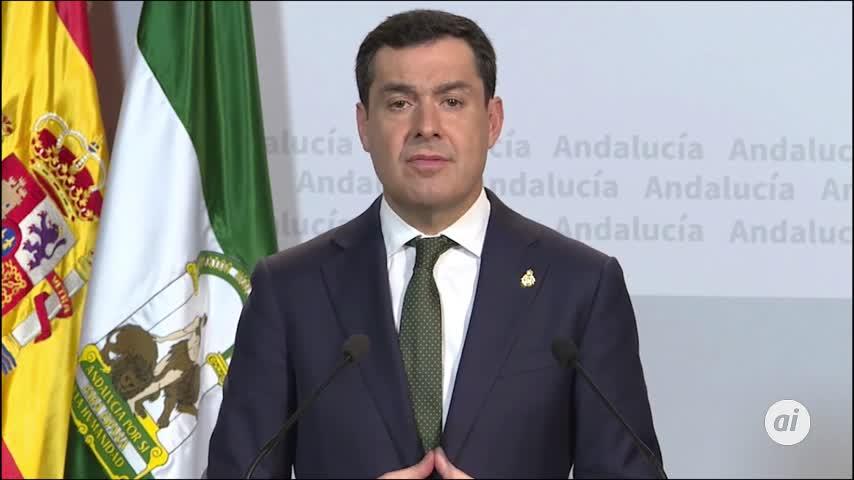 """Moreno cree que hay zonas de España """"que deberían ser cerradas"""""""