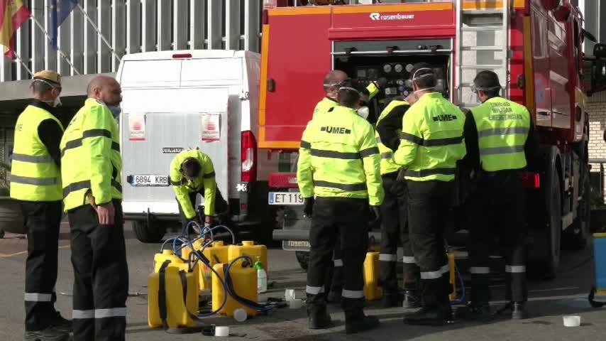 España alcanza un máximo en muertes diarias, con 838 fallecidos más