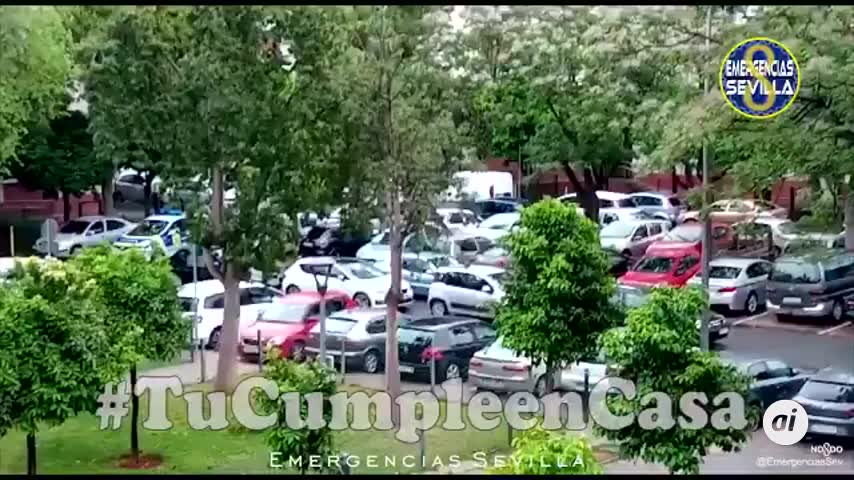 #TuCumpleEnCasa con la Policía Local de Sevilla