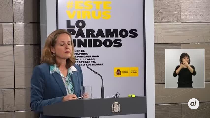 """Calviño dice que la industria electrointensiva """"no puede parar"""""""