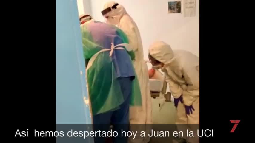 Un hombre de 57 años, primer paciente extubado del Clinico de Málaga