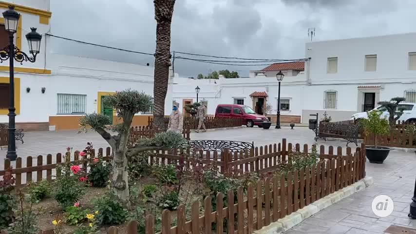 Infantería de Marina se despliega en Cádiz capital y en la Sierra