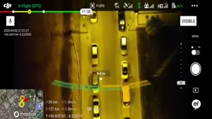 El Puerto utiliza drones para mejorar la vigilancia nocturna