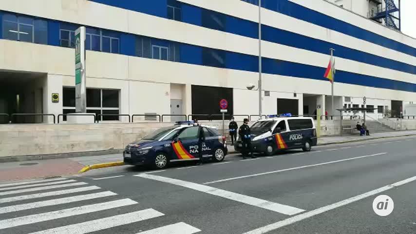 El interlocutor de la Policía coordina la seguridad de los hospitales