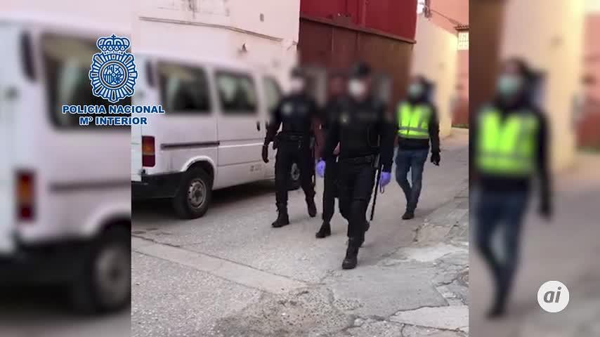 Tres detenidos en Algeciras por planear ataques a la Policía Nacional