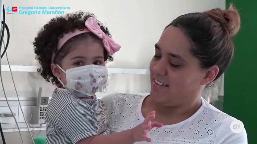 Alta para Chloe, la bebé del trasplante de corazón en plena pandemia