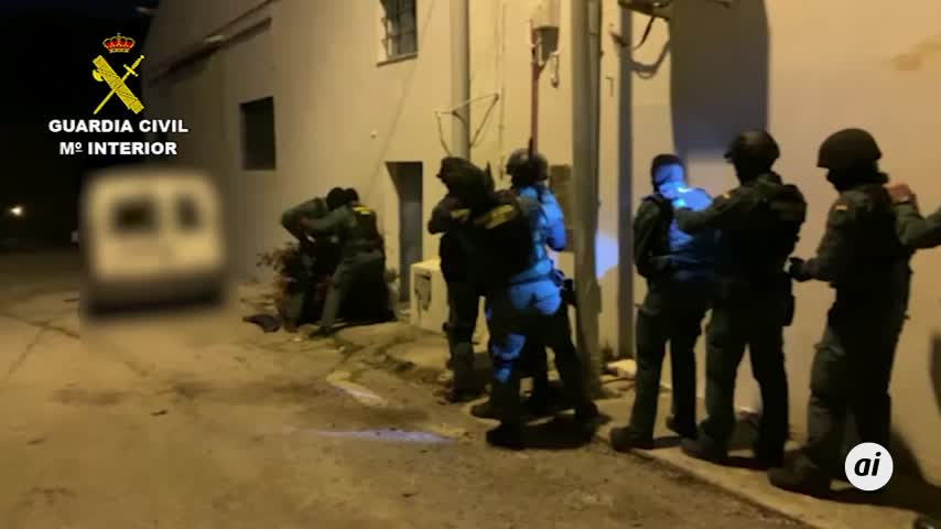 51 detenidos de una red de narcotráfico en Sevilla, Cádiz y Málaga