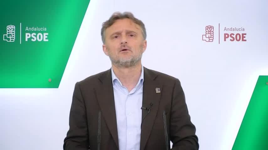 """PSOE-A critica el """"montaje"""" de la Junta """"para atacar al Gobierno"""""""