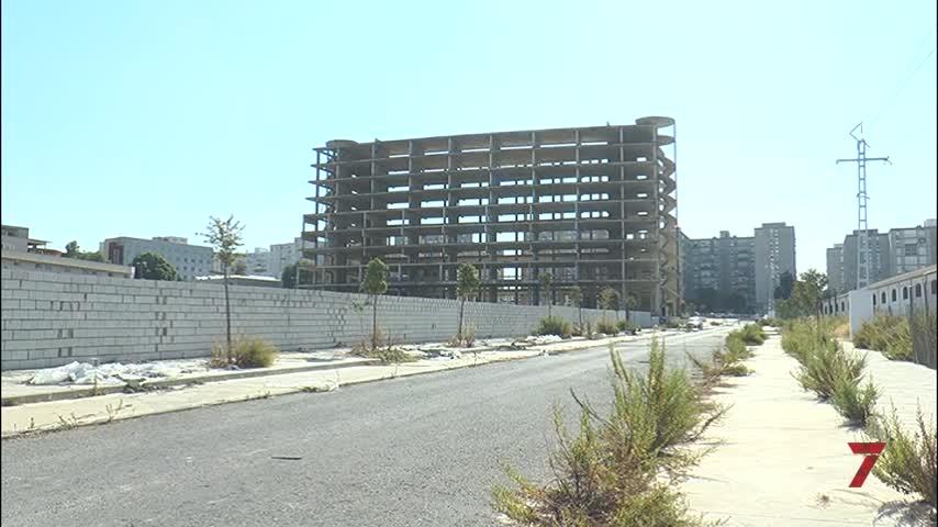 Nuevo paso para demoler la estructura del Palacio de Congresos