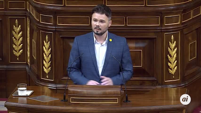 """ERC acusa a Sánchez de llevarse el """"espíritu"""" de su investidura"""