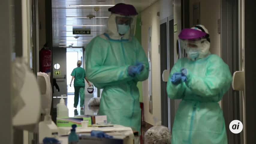 La cifra de muertes diarias por Covid en España sube a 70 personas