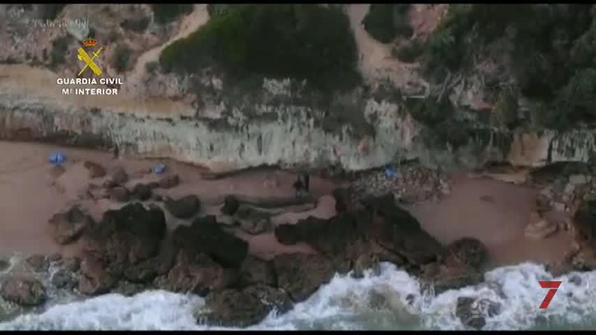 Cae una organización que introducía hachís por el litoral de La Janda