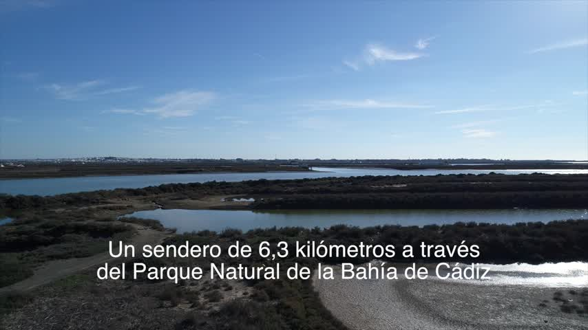 El Pleno aprueba el convenio del sendero de San Fernando a Chiclana