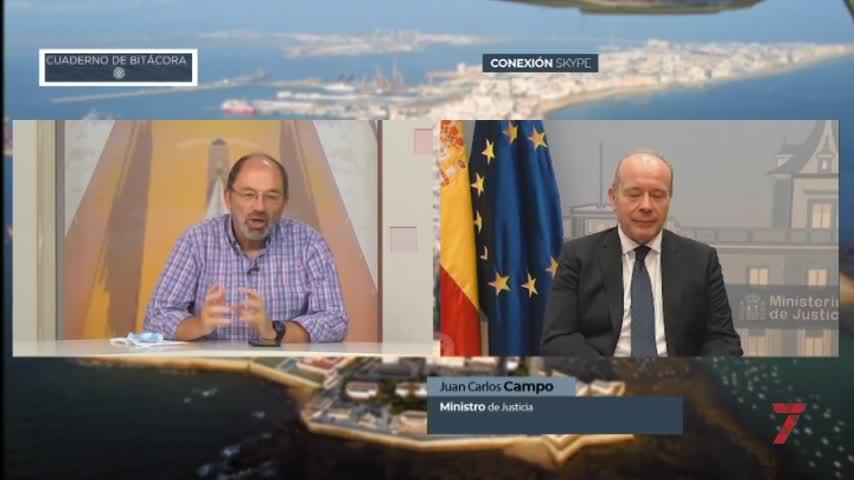 """El ministro de Justicia en 7TV: """"no hay plan B al estado de alarma"""""""