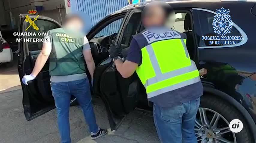 Cae una red de tráfico de marihuana, con nueve detenidos en Sevilla