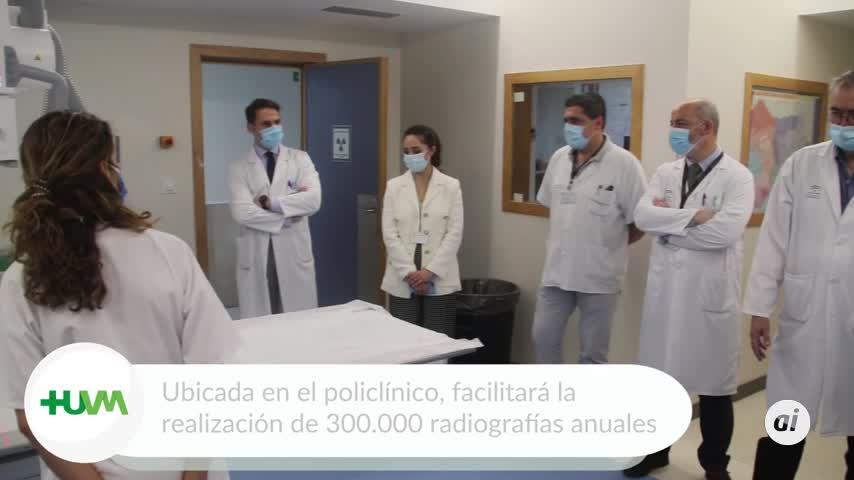 El Macarena adquiere un equipo radiodiagnóstico de última generación