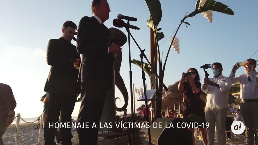 El Toque de Oración en homenaje a la víctimas de la Covid-19
