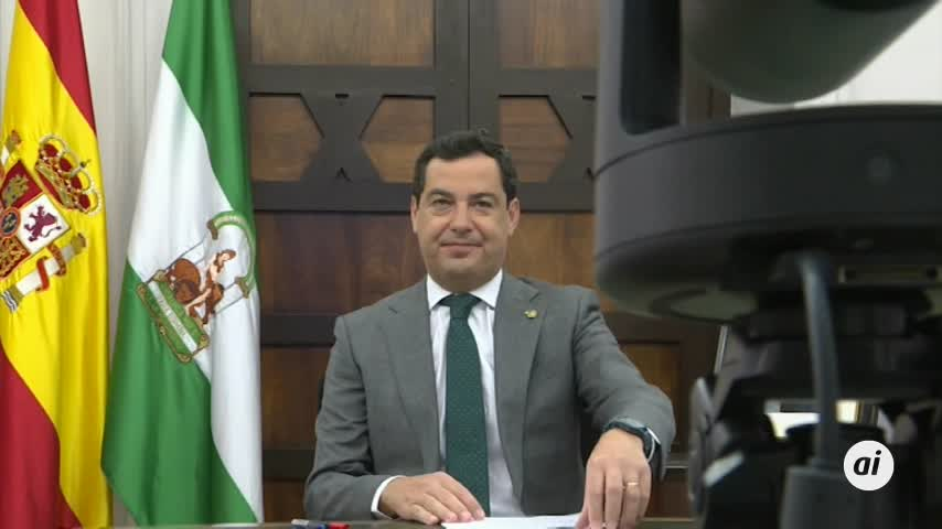 Moreno urge a Sánchez a abordar la financiación autonómica